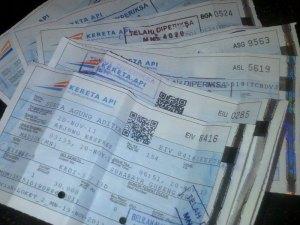 Tiket Kereta Arjuna